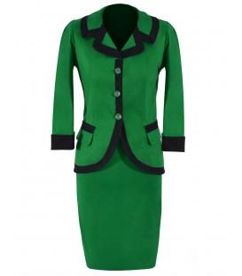 Costum dama verde