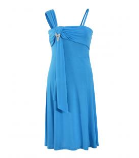 Rochie-de-ocazie-lycra-albastru-mare