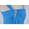 Rochie de lycra 3/4 - albastru