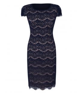 Michelle-bleumarine - mânecă scurtă