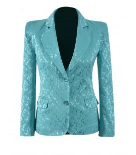 Sacou-dama-jakard-turquoise