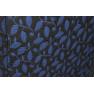 Trench imprimeu floral bleumarin