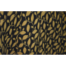 Trench imprimeu floral galben mustar