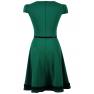 Rochie-de-ocazie-jerse-verde-Alexia