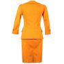Costum bumbac-3/4-mustar
