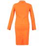 Costum-dama-bumbac-portocaliu