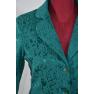 Sacou jacard verde-smarald