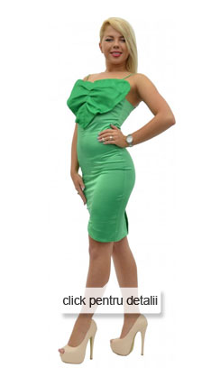 Rochie verde mulata