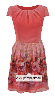 rochie de vara silueta clepsidra